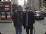 With Dr. Glen Daum, my jazz mentor