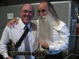 With my friend Leland Sklar, one of the best bass players on the planet